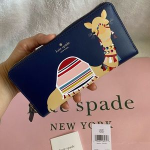 NWT Kate Spade Spice Things Up Camel Neda Wallet